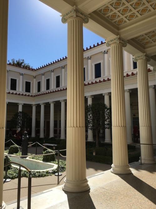 Getty Villa Architecture