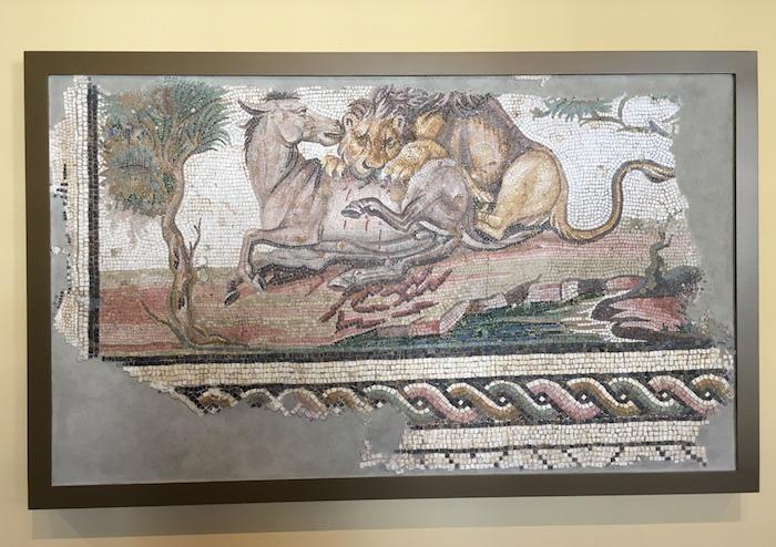 Roman Mosaic Getty Villa
