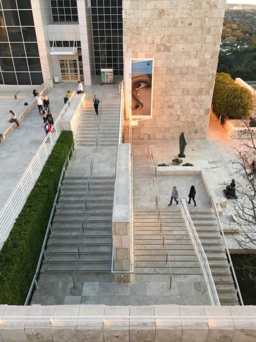 Getty Center Stairs