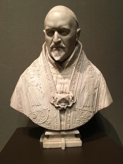 Getty Center Bernini Pope Paul V