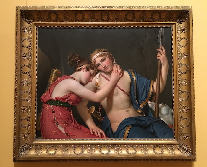 Getty Center David Farewell of Telamachus and Eucharis