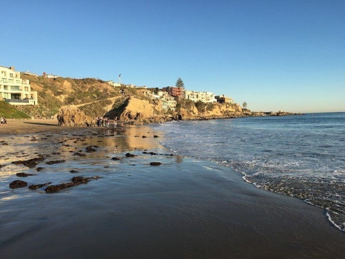 Corona del Mar Beach Shore Ocean