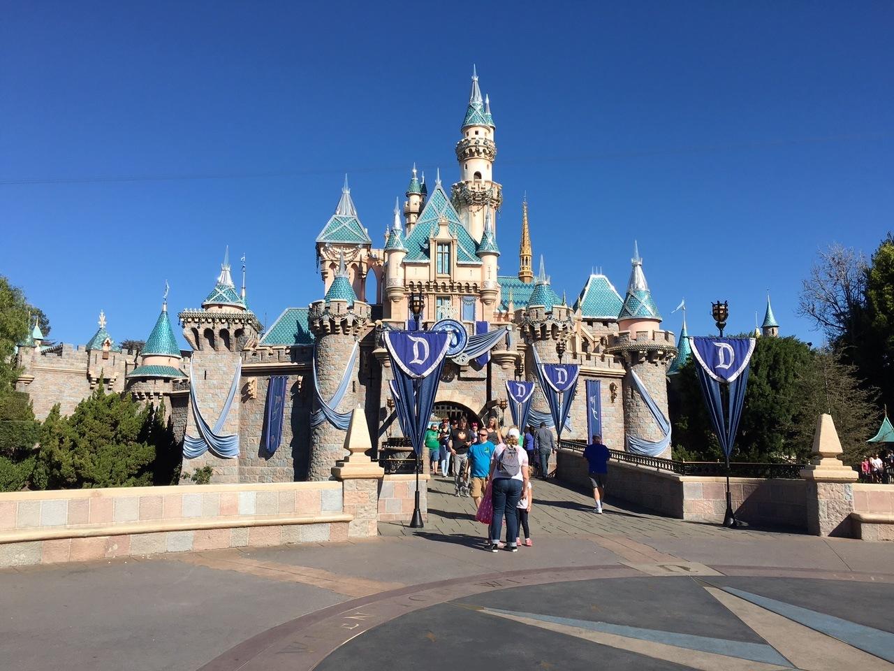 Disneyland Sleep Beauty Castle