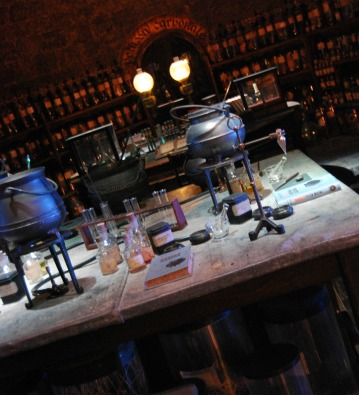Professor Snape's Potions Class--The Making of Harry Potter Warner Bros. Studio Tour London
