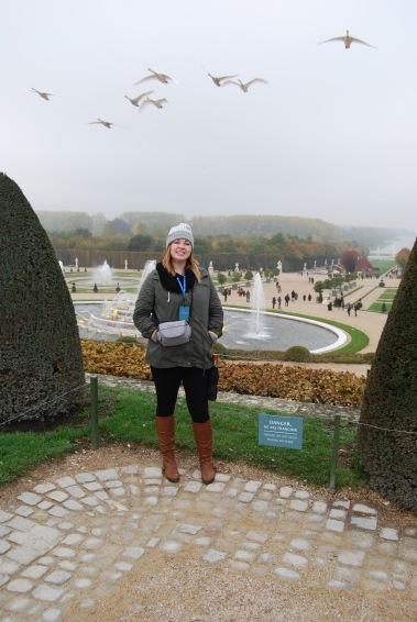 Gardens--Palace of Versailles
