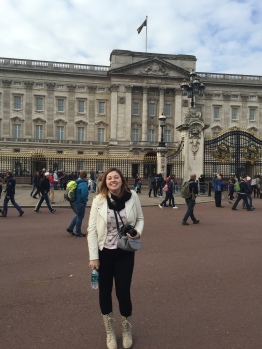 Buckingham Palace--London, England