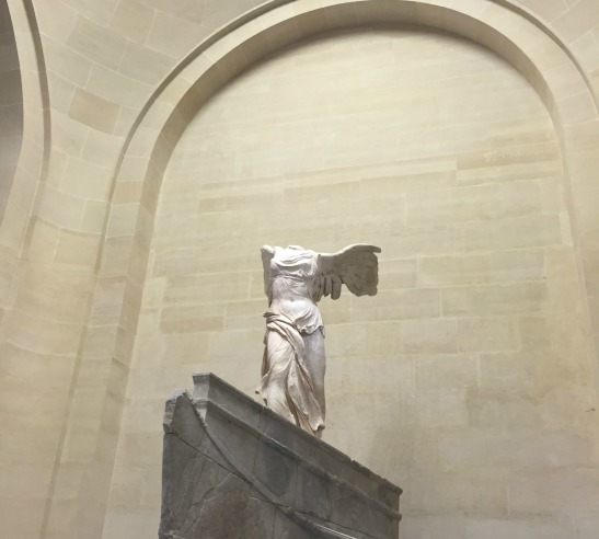 Winged Victory of Samothrace--the Louvre--Paris, France