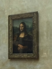 Mona Lisa--The Louvre--Paris, France