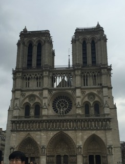 Notre Dame Cathedral--Paris, France