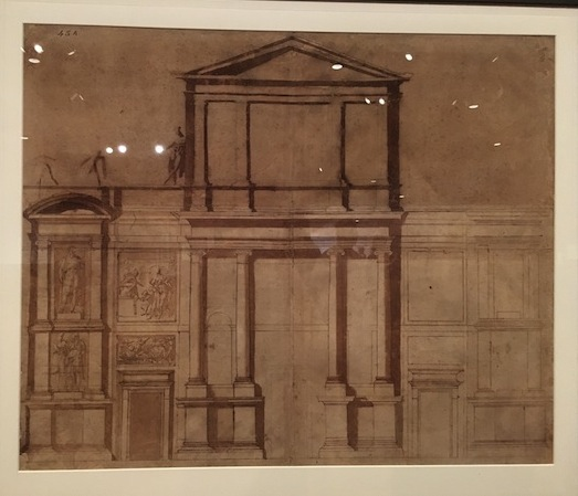 Michelangelo Architectural Drawing