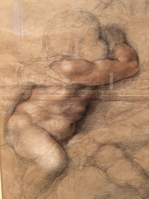 Christ Madonna Michelangelo Drawing