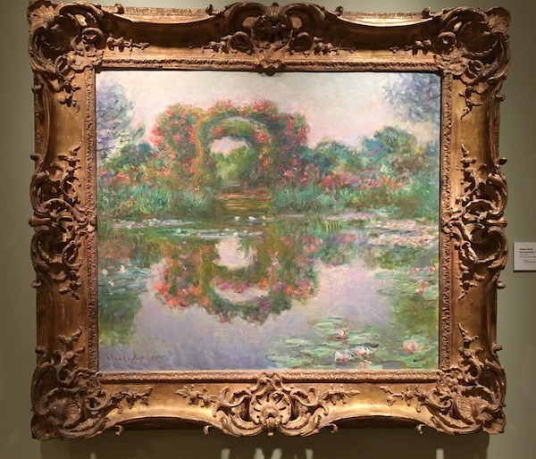 Monet Painting Giverny