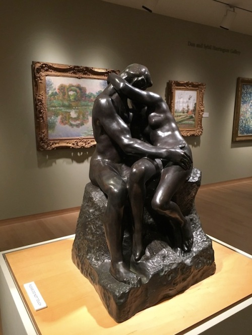 The Kiss Rodin Bronze