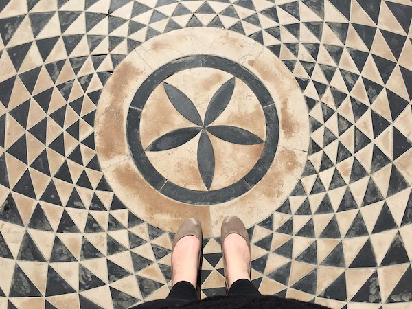 Tieks Floor Mosaic