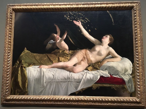 Gentileschi Danae Getty Center