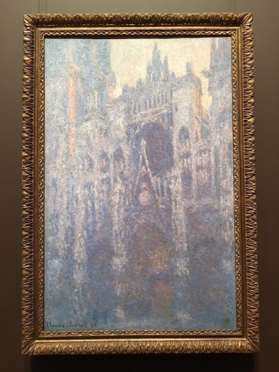 The Portal of Rouen Cathedral in Morning Light by Claude Monet -- Getty Center