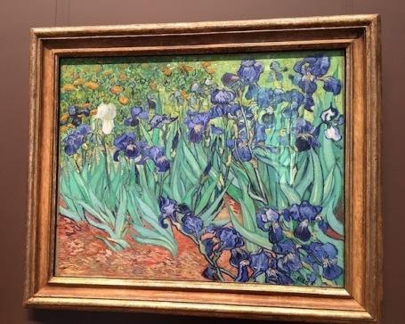 Irises by Vincent Van Gogh -- Getty Center