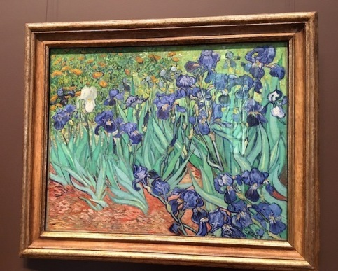 Irises by Vincent Van Gogh -- Getty Center