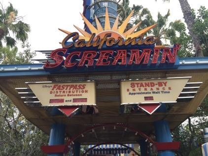 California Screamin'--Disneyland California Adventure