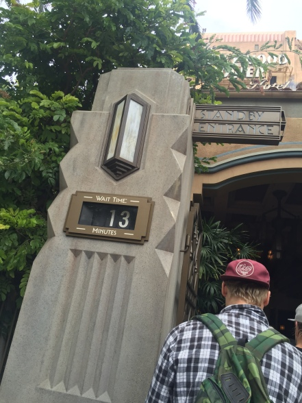 Twilight Zone Tower of Terror--Hollywoodland Disney's California Adventures