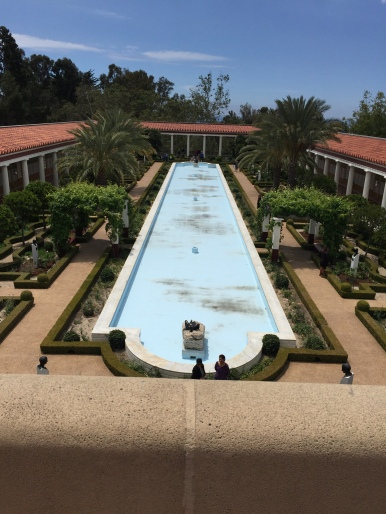 Getty Villa Musem--Malibu California