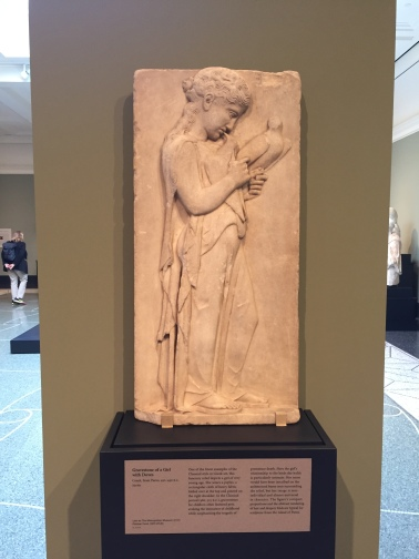 The Gravestone of a Girl with Doves -- Getty Villa