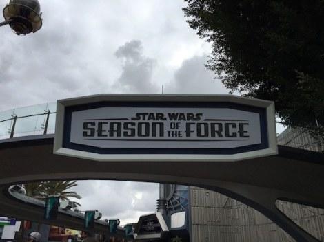 Season of the Force Disneyland
