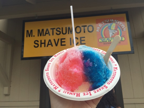 Matsumoto's Shave Ice--Haleiwa North Shore--Oahu, Hawaii