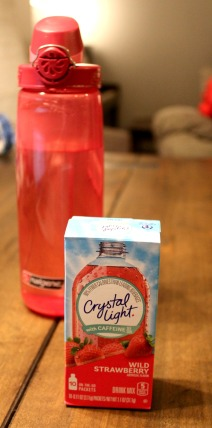Crystal Light--Carry On Packing