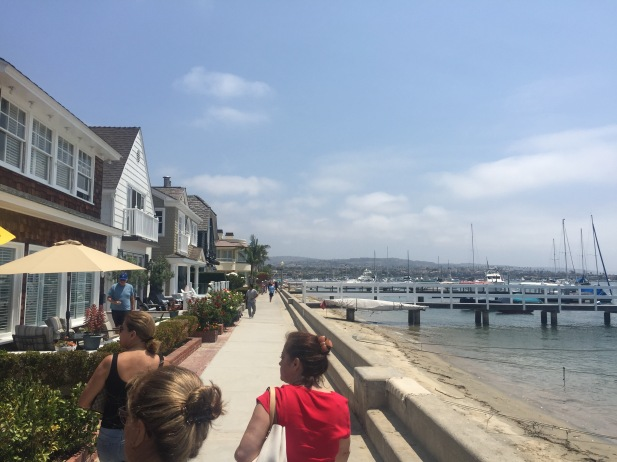 Balboa Island Boardwalk--California