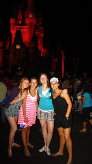 Walt Disney World--Magic Kingdom--Cinderella's Castle