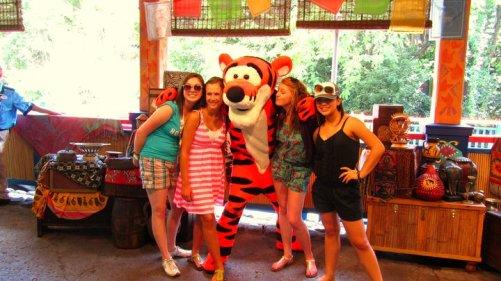 Walt Disney World--Animal Kingdom--Tigger