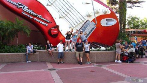Walt Disney World--Rock 'n' Roller Coaster