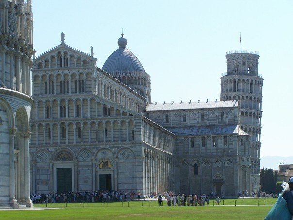 Cathedral in Pisa, Italy