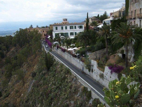 Road in Sorrento, Italy
