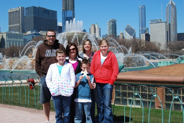 Buckingham Fountain--Chicago Illinois USA