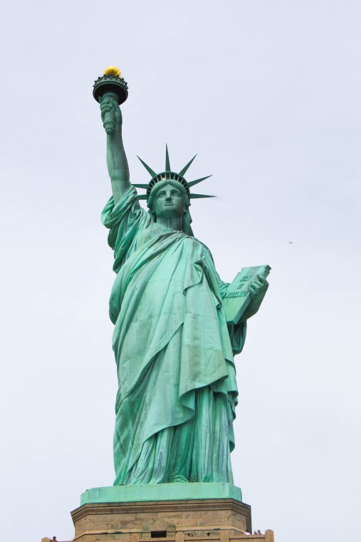 Statue of Liberty--Liberty Island--New York, New York