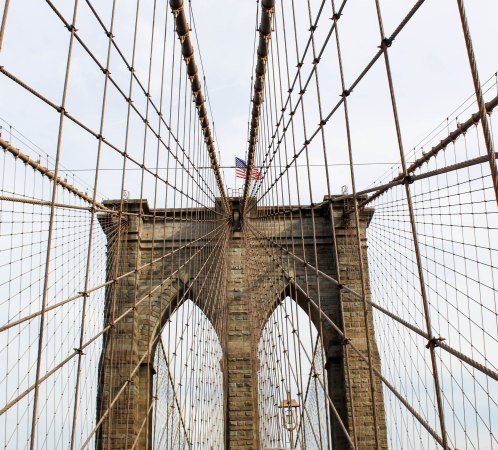 Brooklyn Bridge--New York City, New York