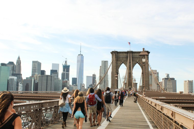 Brooklyn Bridge--New York City