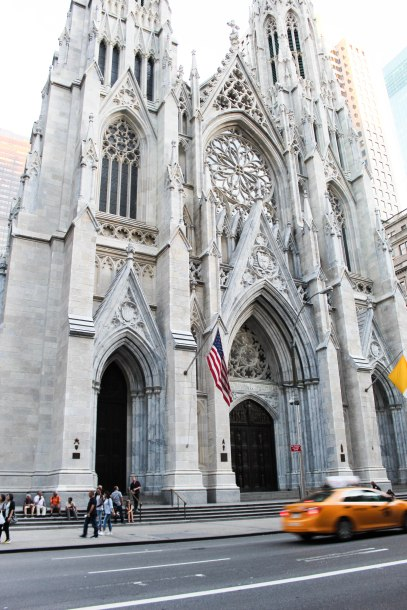 St. Patrick's Cathedral--New York City