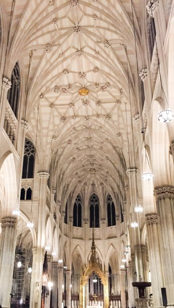 St Patrick's Cathedral--New York City