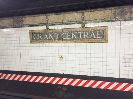 Grand Central Station--New York City--Subway