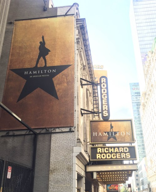 Richard Rodger's Theatre--Hamilton--New York, New York