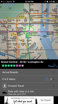 New York Subway App