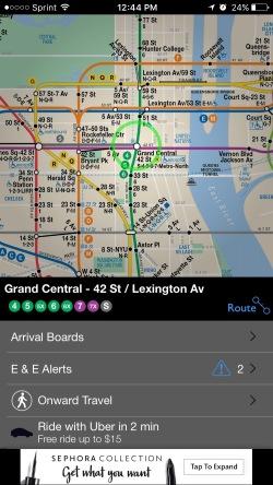 New York Subway App