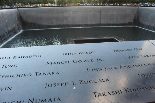9/11 Memorial--Manhattan--New York City
