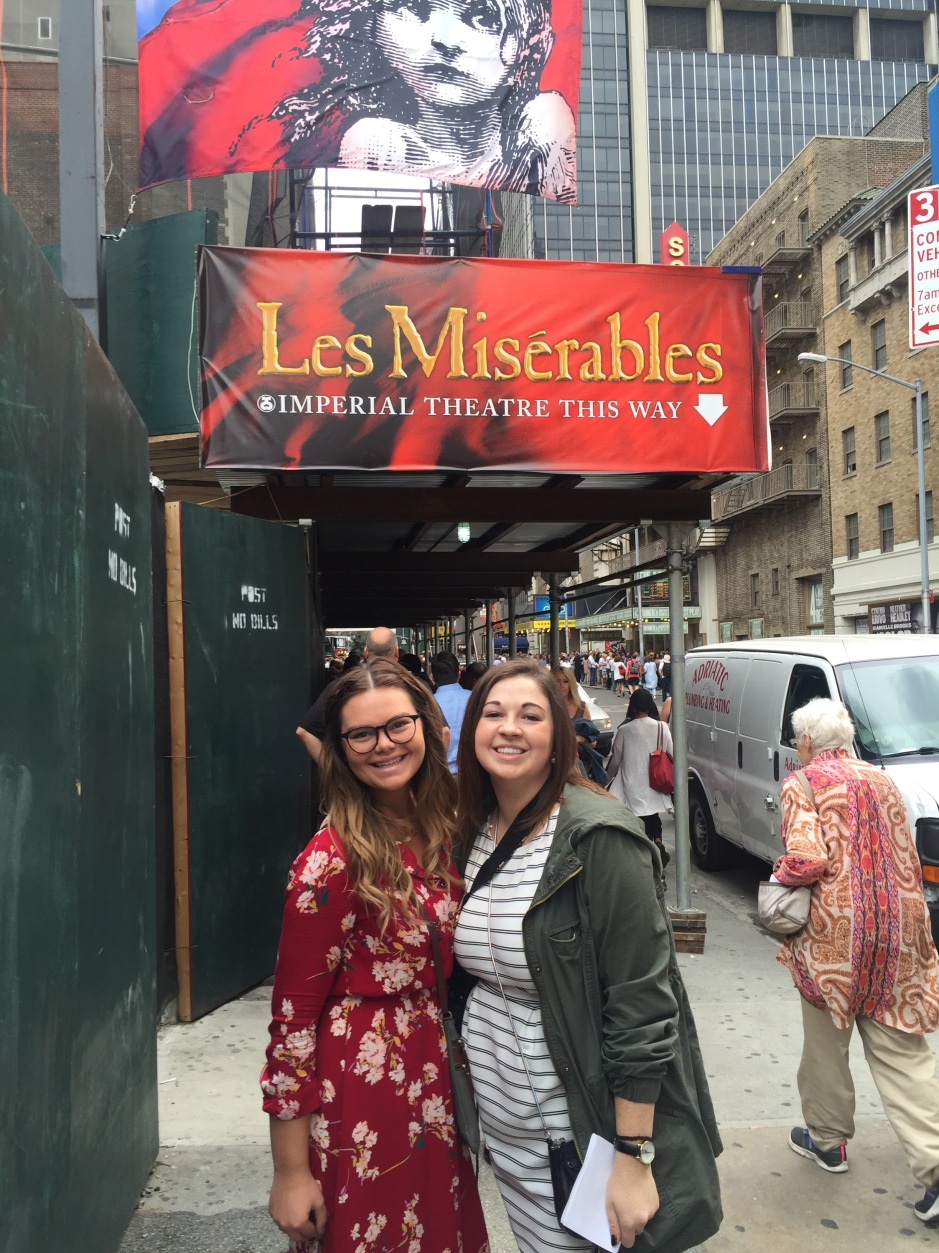Les Miserables--Imperial Theatre--New York City