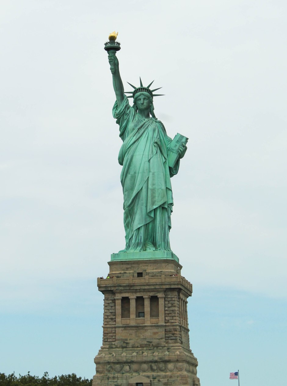 Statue of Liberty--Liberty Island--NYC