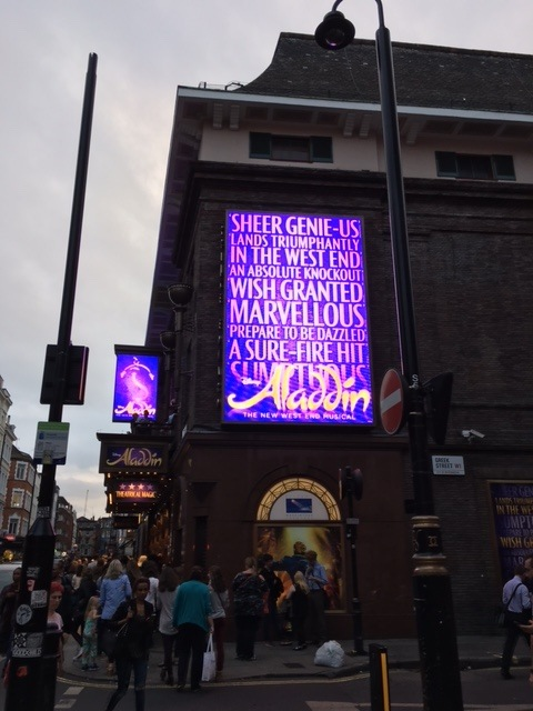West End London Aladdin