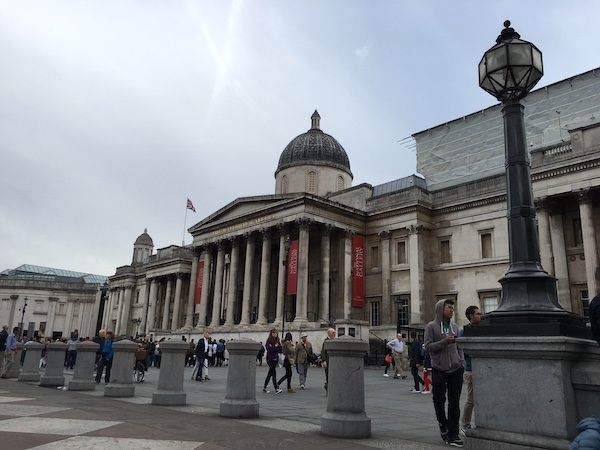 London National Gallery Trafalgar Square